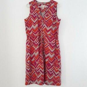 Banana Republic Sleeveless Shirt Dress Sz 6